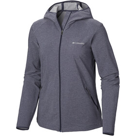 Columbia Heather Canyon Chaqueta Softshell Mujer, gris